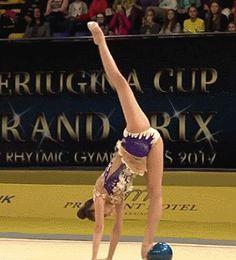 Bildresultat för rhythmic gymnastics gif
