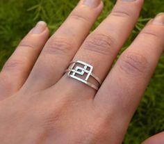 Intricate ring.