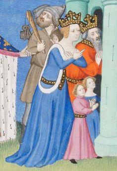 Giovanni Boccaccio, Des cas des nobles hommes et femmes Frankreich (Paris) · ca. 1410 Ms. fr. 190/2  Folio 158v