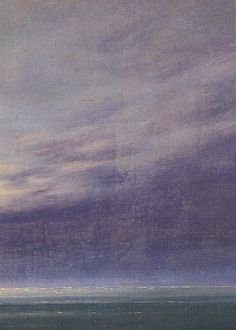 Caspar David Friedrich, Moonrise over the Sea (detail), 1822
