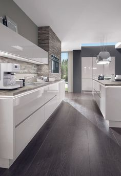 545 Best High Gloss Kitchen Images In 2019