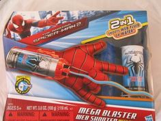 The Amazing Spiderman 2 Mega Blaster Web Shooter with Glove Toy #LEGO