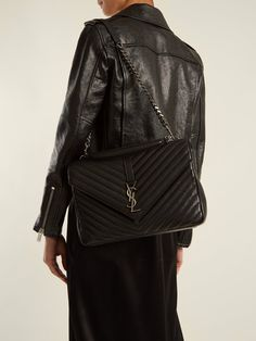Discover recipes, home ideas, style inspiration and other ideas to try. Saint Laurent College Bag, Sac Saint Laurent, Ysl Handbags, Handbags Michael Kors, Sac College, Best Designer Bags, Chanel Brand, Ysl Bag, How To Look Classy