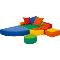 Comfort corner for kids to hang out in. Great for reading. Classroom Furniture, Kids Furniture, Luxury Furniture, Soft Play, Cozy Corner, Cool Rooms, Cool Kids, Kids Fun, Kids House