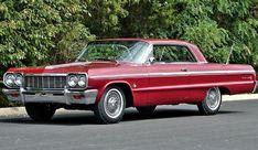 1964 Chevy Impala SS #classiccarschevrolet #chevroletimpala1964