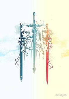 sword art online tattoo - Sök på Google