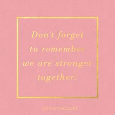 Bear one another's burdens, and so fulfill the law of christ. Cool Words, Wise Words, Encouraging Quotes For Women, Christine Caine, We Are Strong, Praise The Lords, Word Of The Day, Today Show, Bible Lessons