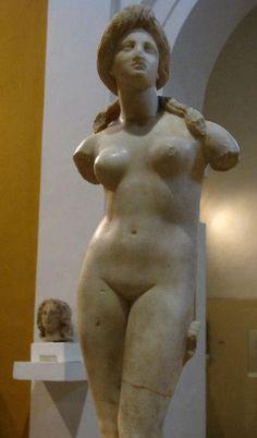 'Aphrodite of Soli' statue - Cyprus Museum