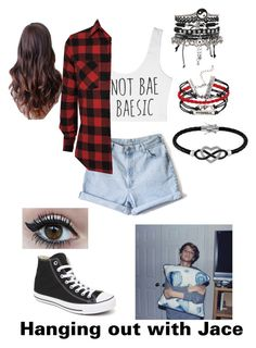 Untitled #149 by fangirlmuch on Polyvore featuring polyvore, fashion, style, Converse, ASOS and Jewel Exclusive
