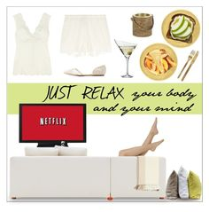 """just relax contest III"" by tippih ❤ liked on Polyvore featuring interior, interiors, interior design, home, home decor, interior decorating, Calando, Knoll, Hawkins and Barneys New York"
