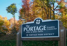 The PORTAGE Hike & Bike Trail serves as a key east-west link between the major trail systems in Northeast Ohio, The PORTAGE will initiallly connect the communities between Kent, Kent State University and Ravenna to the 32-mile Metroparks, Serving Summit County's Bike and Hike Trail, creating the backbone for an extensive network of neighborhood trail links.