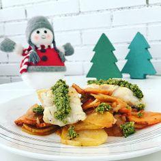 ¿Has pensando en cuál será tu plato estrella en estas Navidades? Nosotros te proponemos este delicioso bacalao al horno con salsa de pistachos.