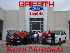 Merry Christmas from Griffith Ford in Uvalde, TX