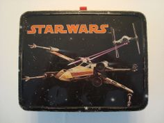 Vintage StarWars 1977 Metal  Lunch Box