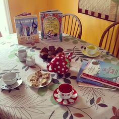 Poetry tea time with a friend. #bravewriter #bravewriterlifestyle