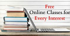 Just because we aren't in school anymore doesn't mean that we stop learning. I love checking out free online classes to learn a new skill or to help me solve a problem. There are so many helpful sites that are free or very cheap to use. This is great for stay at home moms, retirees, …