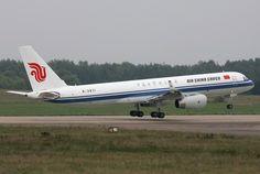 Air China Cargo, China, Tupolev TU-204F freighter