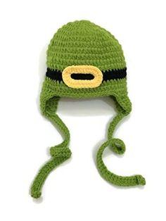 Leprechaun Crochet Beanie Photo Prop Costume for the baby!