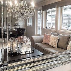 *Swoon* at @homebymatilde @perfect living room luxe #thestyleluxe