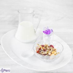 Detox muesli a perfect healthy brunch and breakfast recipe.