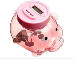 Coin-Counting Piggy Bank