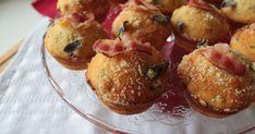 Muffins salati con pancetta e salvia - Finger Food Salvia, Buffet, Pretzel Bites, Finger Foods, Muffins, Bread, Breakfast, Latte, Morning Coffee