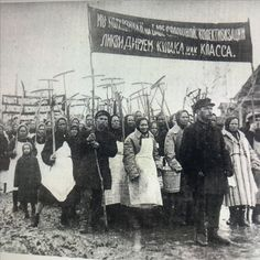 Collective farmers proclaiming the liquidation of the kulaks Stalinist, Back In The Ussr, Farmers, Russia, Movie Posters, Movies, Collection, Search, Google