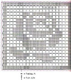 Crochet Short - How to Crochet on Fabric: Tshirt Yoke Crochet Doily Patterns, Granny Square Crochet Pattern, Crochet Diagram, Crochet Chart, Crochet Squares, Crochet Granny, Diy Crochet, Crochet Designs, Crochet Doilies