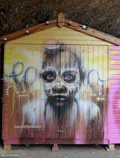 Street art DALE GRIMSHAW Londres Camden