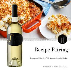 A comforting crowd-pleaser that pairs wonderfully with the Somersville Cellars 2016 California Noblesse. Find the recipe in the Lifestyle section of my website! Wine Recipes, Great Recipes, Favorite Recipes, Wine Shop At Home, Wine Club Monthly, Food Gift Baskets, Houston Food, Chicken Alfredo, Wine Time