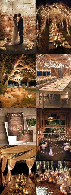 spring flower mason jar string lights rustic invitations country wedding ideas Top 5 Most Popular Wedding Invitations In 2017 From EWI So Far Perfect Wedding, Fall Wedding, Dream Wedding, Trendy Wedding, Wedding Rustic, Wedding Reception, Reception Ideas, Diy Wedding, Reception Seating