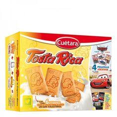 Galletas Tosta Rica Cuétara (Mercadona) - 5 unidades 3 puntos.