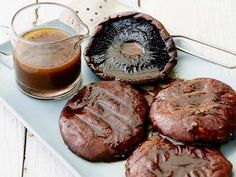 Celebrate Meatless Monday with Grilled Portobello Mushrooms with Balsamic. They are fresh, filling and easy to make.