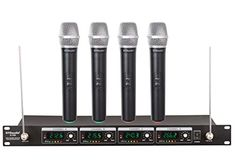 GTD Audio G-380H VHF Wireless Microphone System with 4 Hand held mics GTD Audio http://www.amazon.com/dp/B00HLVOO2G/ref=cm_sw_r_pi_dp_HkKvvb1SEG146
