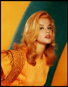 Ann Margret . That beautiful red hair I luv!!!  #oldhollywood #gorgeous #beauty