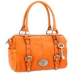 Fossil Maddox Satchel. Seen this at the outlet store in yellow and it was soooo hard for me to walk away!
