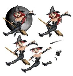 3d sheets photo: witch WitchDeco.jpg