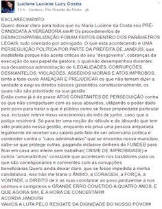 RN POLITICA EM DIA: JANDUÍS: EX-PRESIDENTE DE SINDICATO DIZ QUE PERMAN...