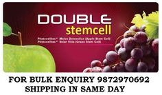 100% Original Phytoscience Double StemCell Apple Grape, Anti-Aging- (14 Sachets)