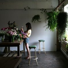 beautiful flower pieces  http://www.ignant.de/2012/07/19/insta-favs-04-kinfolk/