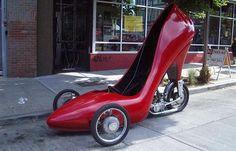 Three-Wheel High Heel (...and looking for Cinderella!)