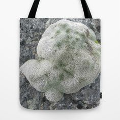 Grey moss Tote Bag by dewice - $22.00