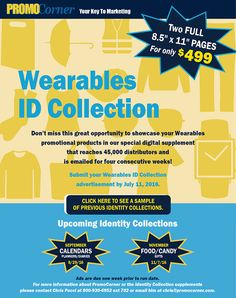 Advertise Your Wearables Promotional Products!