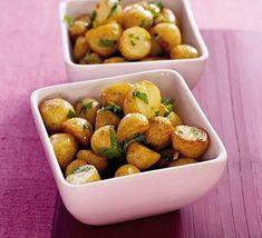 Add a refreshing twist to new potatoes by adding the flavour of mint