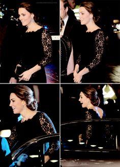 hrhroyalty:  Royal Variety Performance, November 13, 2014-The Duchess of Cambridge