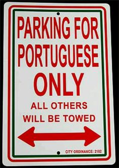 They need this sign in the summer months with all the tourists.