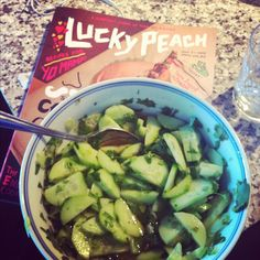 The Buttery Bean Counter: A BBC Original (ish): Spicy Thai Cucumber Salad