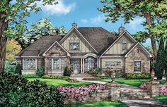 The Carinthia House Plan--1 story, bonus, e space. Good plan.
