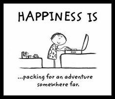Koffer pakken!