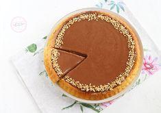 Crostata morbida con cioccolato Dolce, Biscotti, Camembert Cheese, Yogurt, Dairy, Pie, Cupcakes, Pasta, Desserts